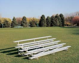 15 5-row Bleachers from Gill Athletics