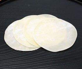 東京ワンタン本舗)餃子の皮(冷凍) 24枚(約140g)1枚Φ85×厚0.83mm