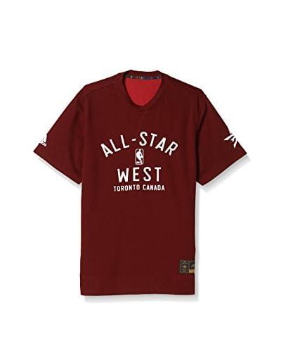 adidas Camiseta Manga Corta AS S/S Shooter Rojo / Blanco