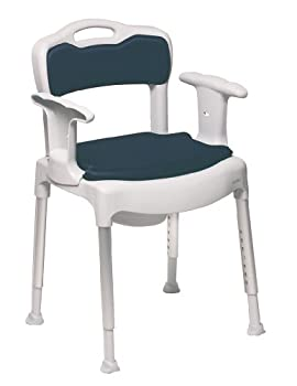 NRS Swift 4-In-1 Shower, Commode, Toileting Chair by Nottingham Rehab Supplies (NRS)