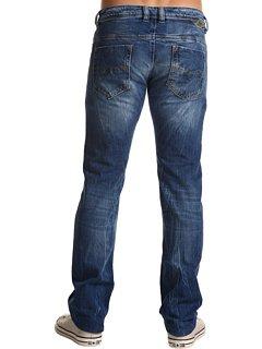 Brand New Diesel Safado 8C3 Mens Jeans, 008C3, Regular Slim Fit Straight Leg (28 x 32)