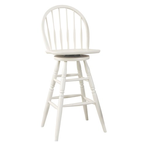 Carolina Cottage 30-Inch Swivel Windsor Barstool