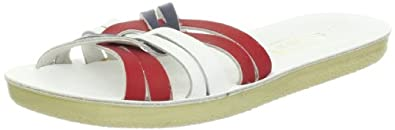 Salt Water Style 8600 Sun-San Strappy Sandal,Red White Blue,5 M US Toddler
