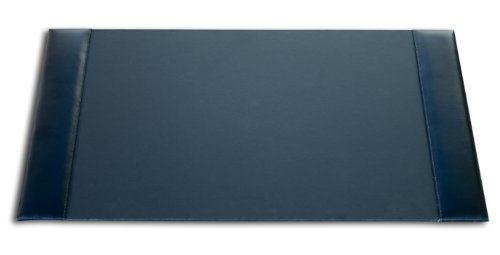Dacasso Black Econo-Line Leather Desk Pad, 30 By 18 Inch