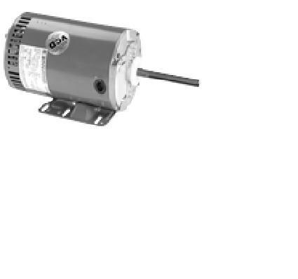 Marathon X525 Refrigeration Fan Motors Three Phase 2 HP