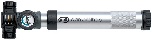 Crank Brothers Power Alloy Bicycle Pump (Gold)