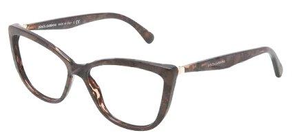 DOLCE & GABBANA Eyeglasses DG 3138 Gauze Brown