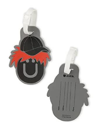 Amazon.com: Zuca Name Tags (Jack (Black/Red)): Clothing