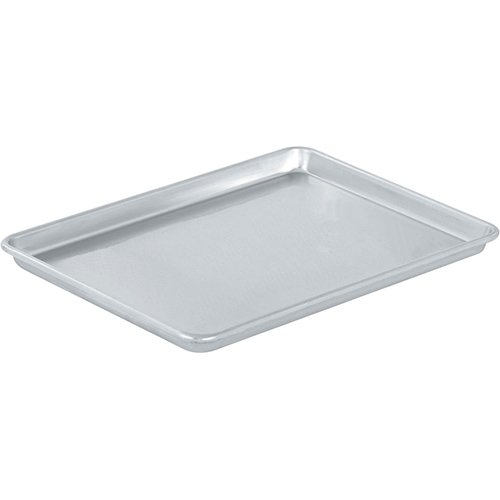 Vollrath 5303 Sheet Pan, 1/2 size, Aluminum, 18-Inch x 13-Inch x 1-Inch, 2-Units
