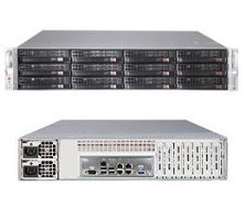 SuperStorage Server 6027R-E1R12L - Server - Rack-mountable