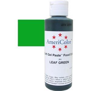 Americolor Soft Gel Paste 4.5 oz. Leaf Green