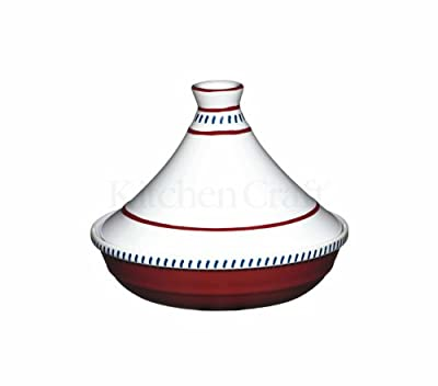 World Of Flavours Mediterranean Hand Painted Mini Tagine 13cm from Kitchen Craft