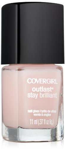 Covergirl Outlast Stay Brilliant Nail Gloss, Natural Blush 130, 0.37 Ounce (Natural Colors Nail Polish compare prices)