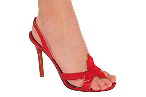 agnona-donna-scarpe-pelle-rosso-39