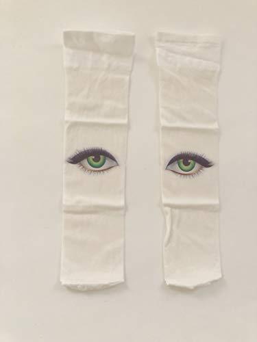 Micia Luxury(ミシアラグジュアリー) ベビー こども靴下 おもしろソックス ホワイト 24ヶ月