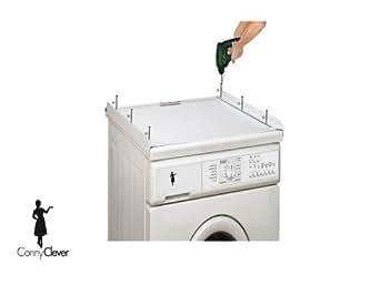 verbindungsrahmen ohne arbeitsplatte f r waschmaschine. Black Bedroom Furniture Sets. Home Design Ideas