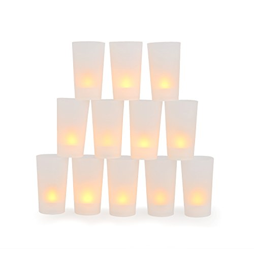 Set of 12 Amber LED 4