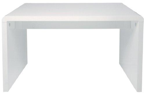 74262 White Club Schreibtisch, 125 x 60 cm zerlegt