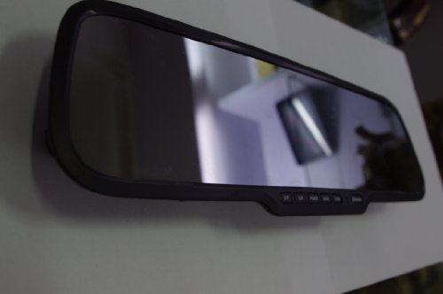 Motion Detection Lcd 2.7Inch Screen G-Sensor 1080P Car Dvr Video Camera Hd-Car Rearview Mirror Camera front-234416