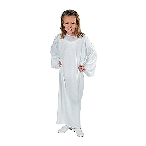 Child White Nativity Gown Small