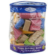 Imaginarium Foam Building Blocks - 100 Pieces - 1
