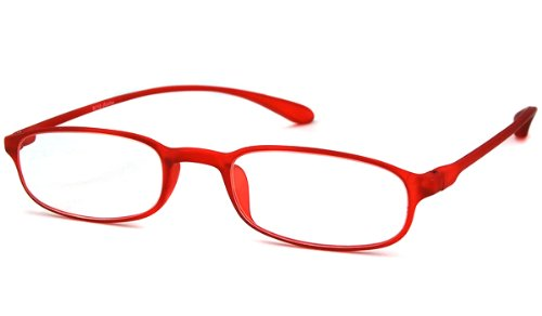 Calabria Readers Full Readers (Women) Reading Glasses - 718 Red Flexi-Light