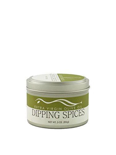Olive Oil Dipping Spices by Calivirgin Extra virgin olive oil dip restaurant style garlic sun dried tomatoes onion basil parsley oregano blend kosher California (garlic, basil, oregano, parsley, dried tomatoes) (Bread Machine Olive Bread compare prices)