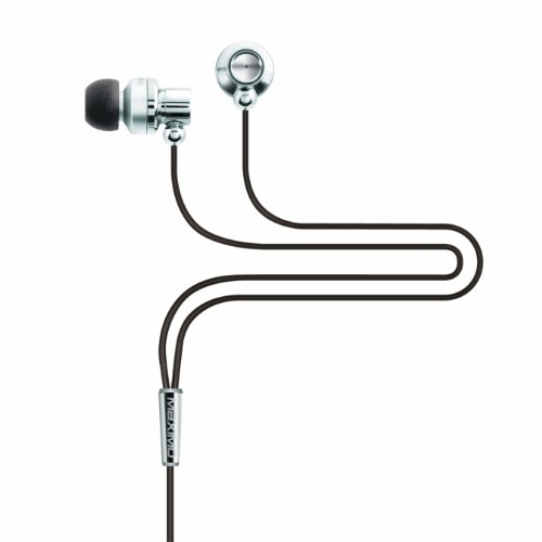 Maximo Im-390 Imetal Isolation Earphones For Portable Audio & Airline Travel