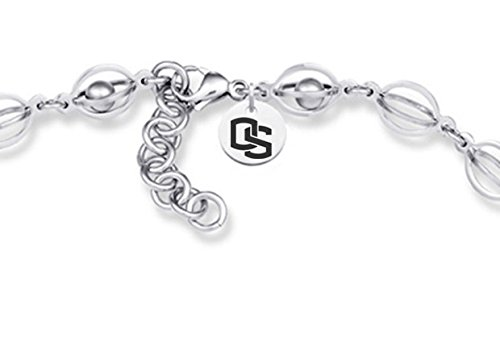 Oregon State Beavers Stainless Steel Birdcage Necklace oregon state beavers stainless steel birdcage necklace