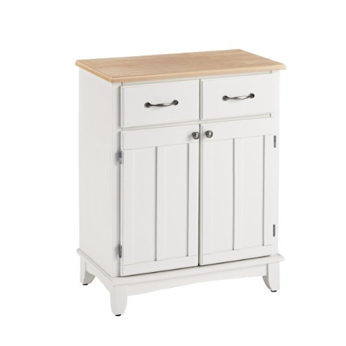 Home Styles 5001-0021 Buffet of Buffets 5001 Series Wood Top Buffet Server, White Finish (Buffet Style Server compare prices)