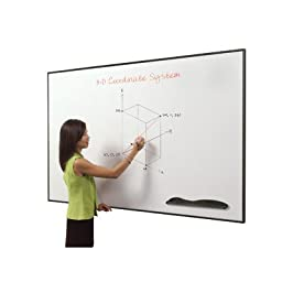 Ultra Trim Wall Mounted Whiteboard Surface Color: Black, Size: 2\' x 3\'