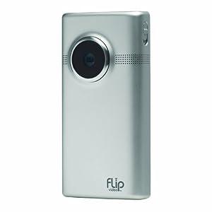 Flip MinoHD Video Camera - Brushed Metal, 8 GB, 2 Hours (2nd Generation)
