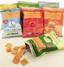 Revival Baked Soy Protein Chips- Rev It Up Ranch (6 Pack)