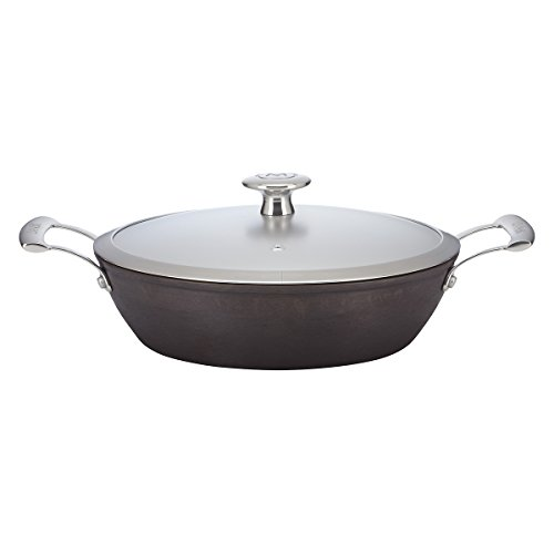 Mario Batali Pre-Seasoned Light Cast Iron 2.5-Quart Braiser by Dansk