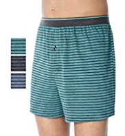 3 Pack Cool & Fresh™ Pure Cotton Assorted Boxers with StayNEW™