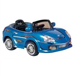 Best Ride on Cars 698R 6V Kids Convertible, Blue