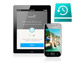 Back up photos and videos directly from your mobile devices with Seagate Mobile Backup App