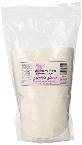 Faeries Finest Sugar, Strawberry Fields, 2.0 Pound