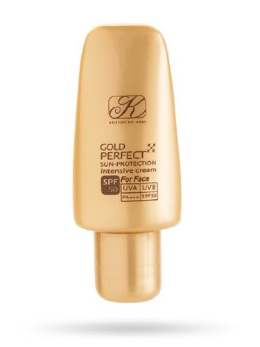 Gold Perfect Sun-Protection For Face Spf 50 Pa+++( 5 Ml.)X 6