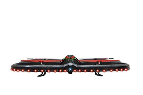 Jamara-038560-Quadrocopter-Flyscout-Kompass-mit-LED-und-Kamera-24-GHz-Fernsteuerung