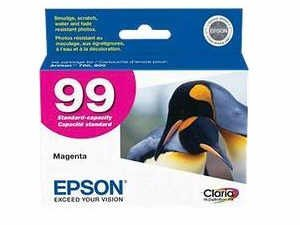 Epson 725 ink Color Multipack Ink Inkjet Genuine Cartridges 98/99 with Black, Cyan, Magenta, Yellow, Light Cyan, and Light Magenta for the Epson Artisan 725 Printer Includes: T098120, T099220 T099320, T099420, T099520, T099620 (Epson 99 Ink Magenta compare prices)