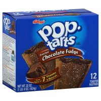 Pop-Tarts Toaster Pastries, Frosted Chocolate Fudge, 22 oz, (pack of 3)