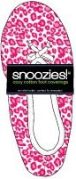 Lightweight Cozy Cotton Slip On Slippers Footwear Snoozies! (Small, Pink Leopard)