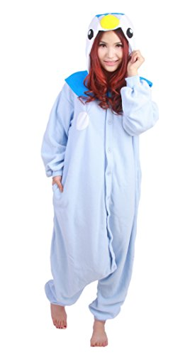 Blue Penguin Kigurumi Costume