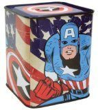 Marvel Comics Captain America Tin Bank [Toy]