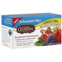 Celestial Seasonings Green Tea Antioxidant Max Blackberry Pomegranate -- 20 Tea Bags