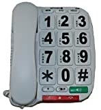 Big Button Opticom B300 Big Button Corded Telephone