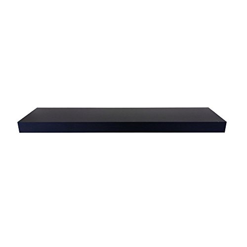 SHELVING SOLUTION Floating Shelf (Black,35