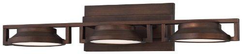 """Kovacs P1103-647-L 25"""" Led Bathroom Vanity Light In Copper Bronze Patina From Th, Copper Bronze Patina"""