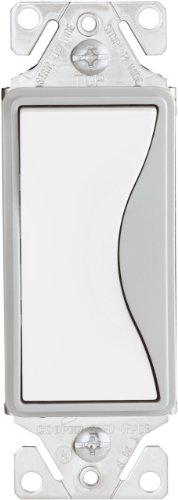 Cooper Wiring Devices 9501Ws-K 15-Amp, 120-Volt Aspire Single-Pole Switch, White Satin